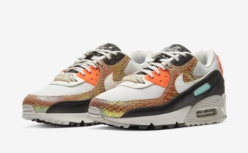 Nike Air Max 90 Gold Snakeskin CW2656-001 Release Date Info