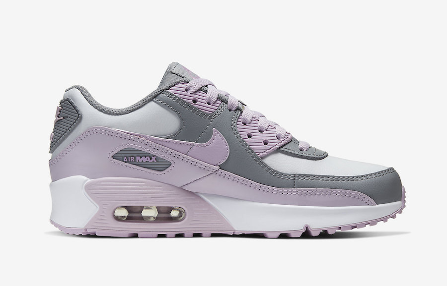 Nike Air Max 90 Grey White Pink CD6864-002 Release Date Info