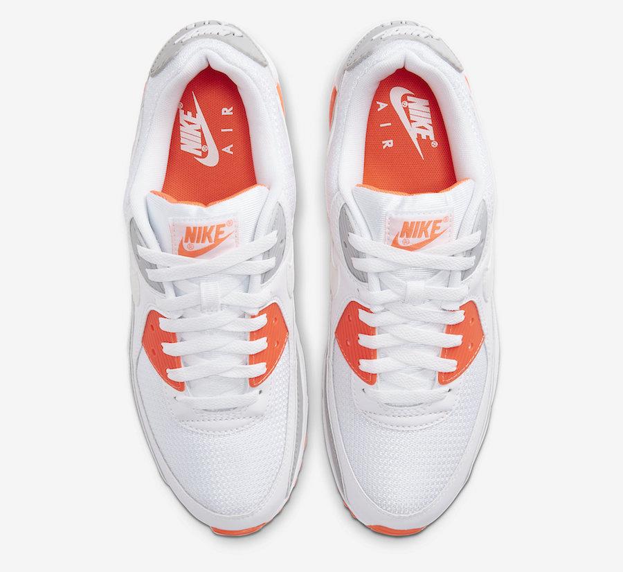 Nike Air Max 90 Hyper Orange CT4352-103 Release Date Info