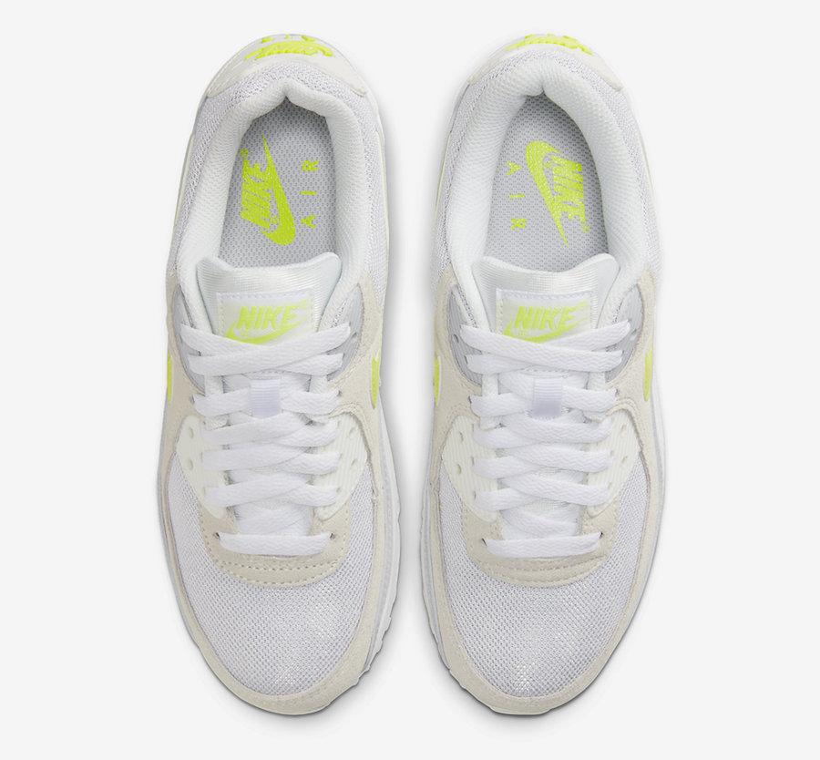 Nike Air Max 90 Lemon Venom CW2650-100 Release Date Info