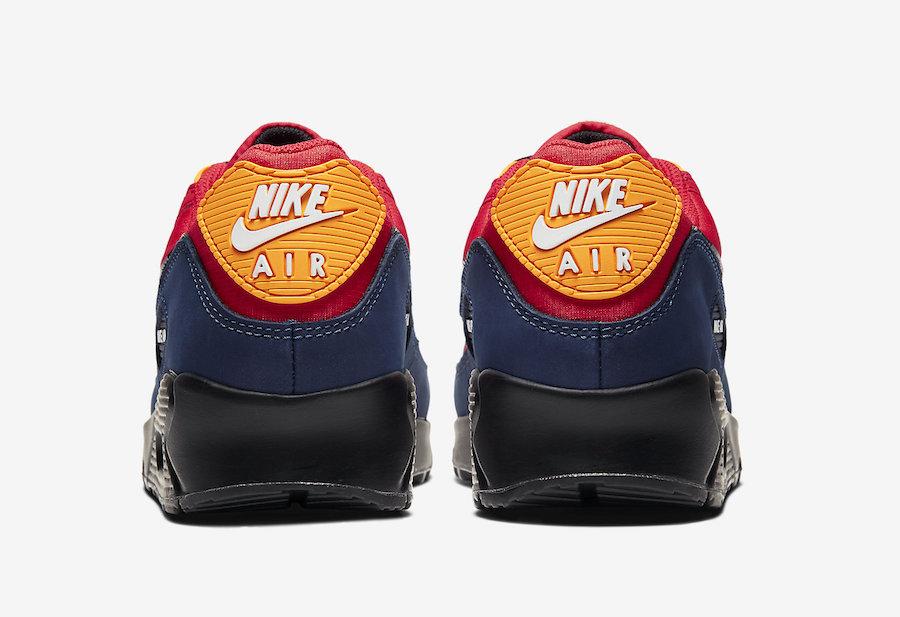 Nike Air Max 90 London CJ1794-600 Release Date Info
