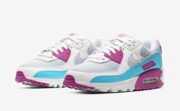 Nike Air Max 90 Magenta Aqua CT1030-001 Release Date Info