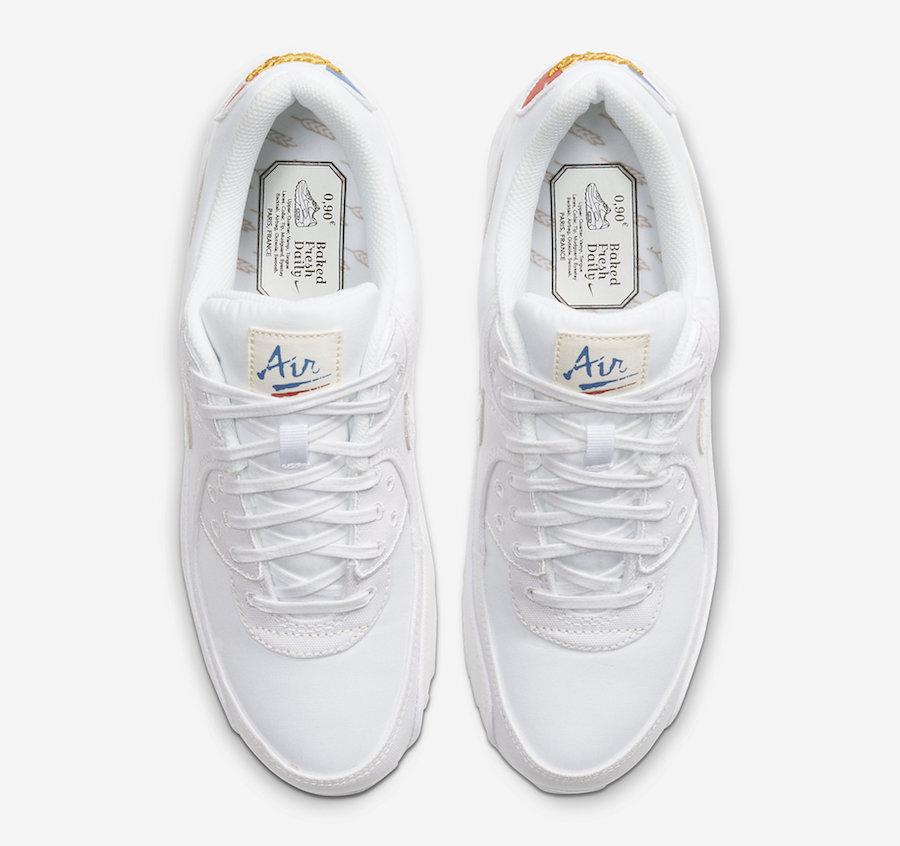 Nike Air Max 90 Paris CQ0912-100 Release Date Info