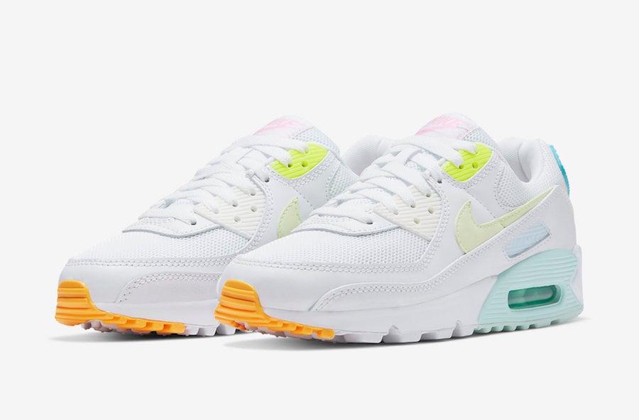 Nike Air Max 90 Pastel Multicolor CZ0366-100 Release Date Info ...