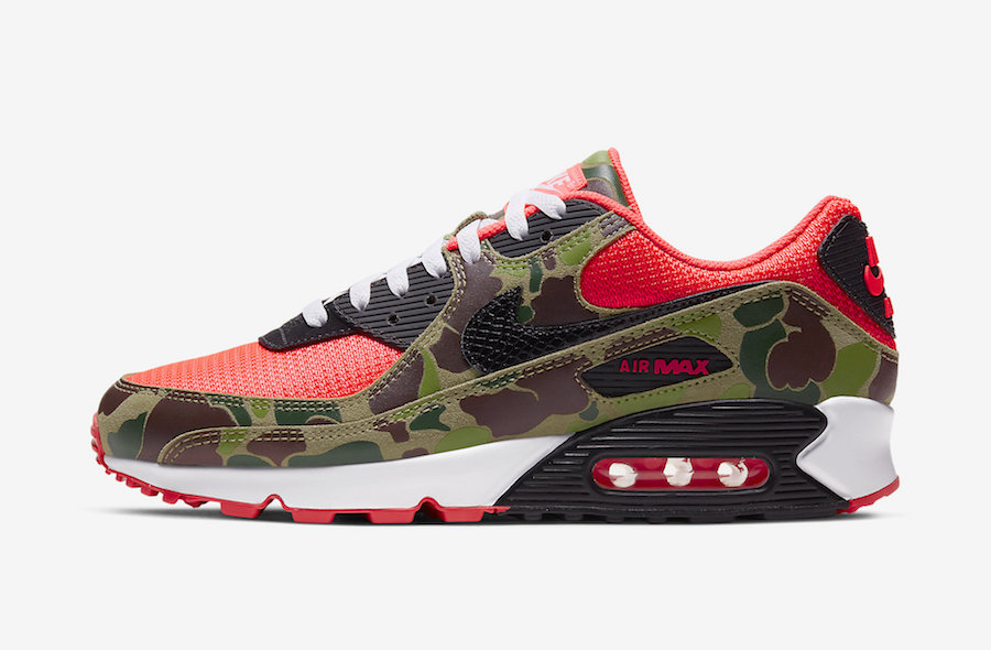 Nike Air Max 90 Reverse Duck Camo CW6024-600 Release Info Price
