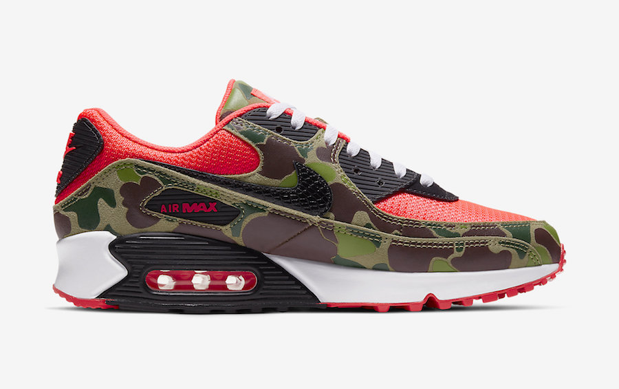 Detailed Look at the Nike Air Max 90 'Reverse Duck Camo