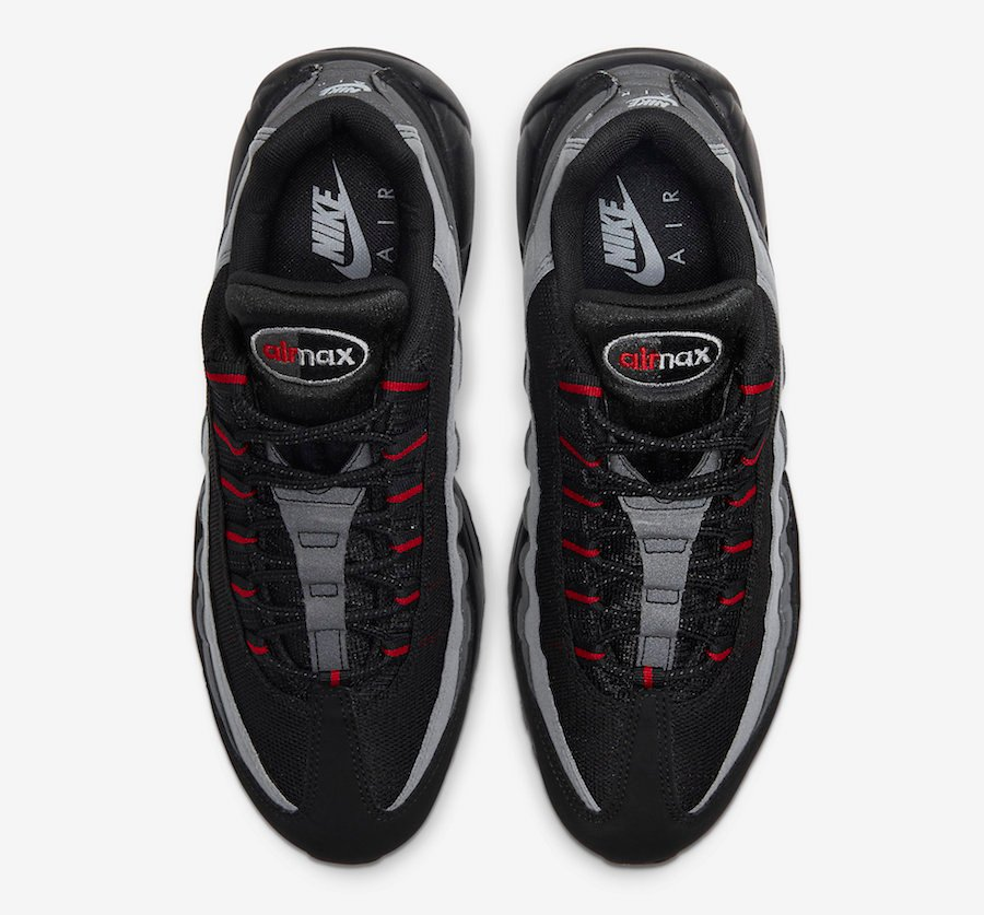 Nike Air Max 95 Black Red Grey CW7477-001 Release Date Info