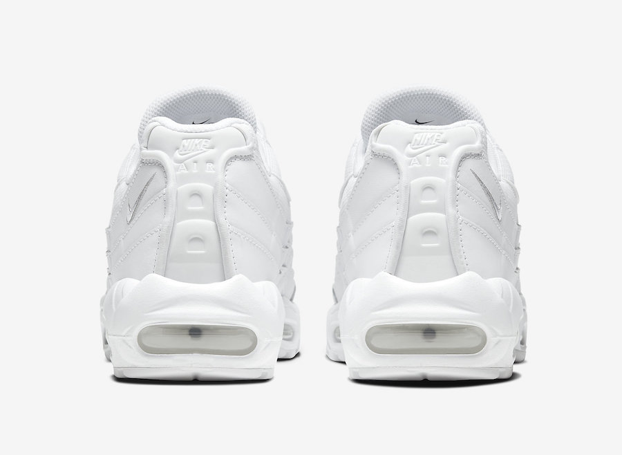 Nike Air Max 95 White CT1268-100 Release Date Info