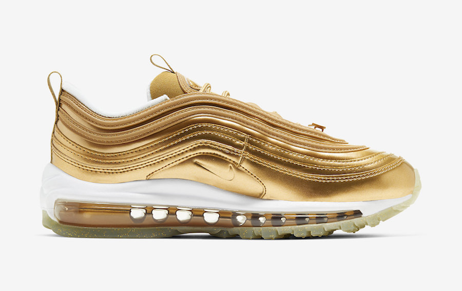 Nike Air Max 97 'Metallic Gold' for the 2020 Olympic Games