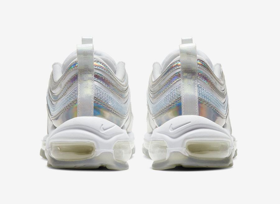 Nike Air Max 97 Premium White Iridescent CU8872-196 Release Date Info