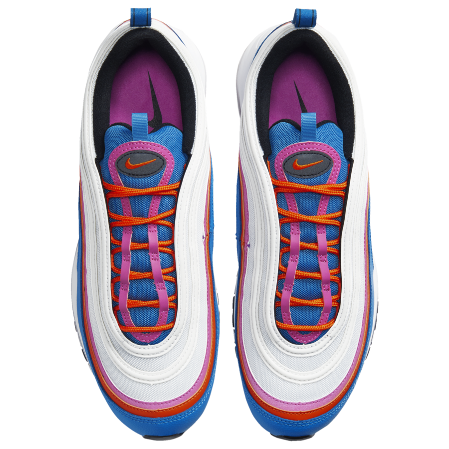 Nike Air Max 97 White Red Pink Blue Cw6992 100 Release Date Info