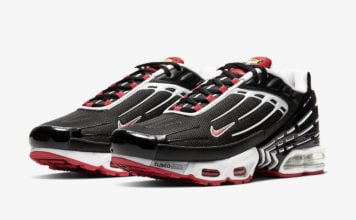 Nike Air Max Plus 3 Black White Red CJ0601-001 Release Date Info