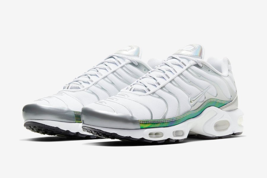 Nike Air Max Plus White Metallic CW2646-100 Release Date Info