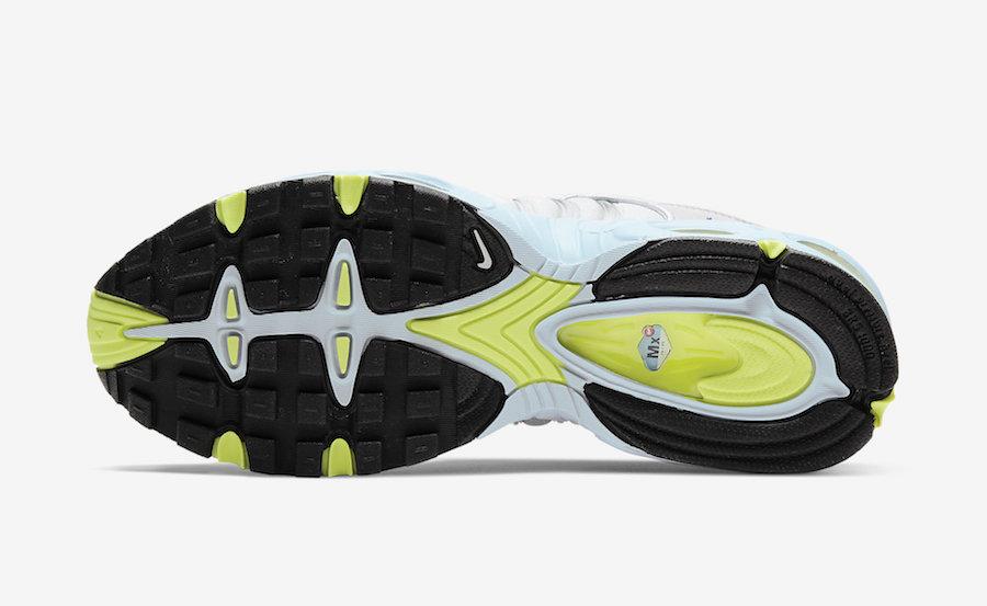 Nike Air Max Tailwind 4 IV Pure Platinum Hydrogen Blue CV3028-001 Release Date Info
