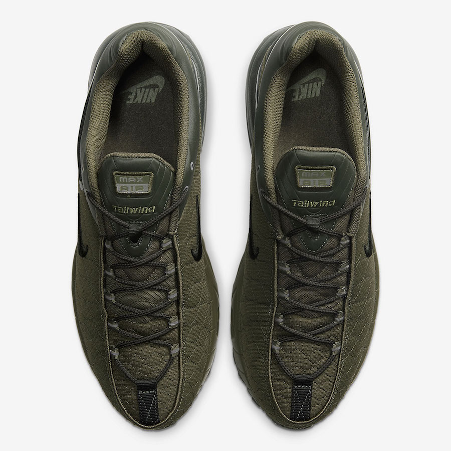 Nike Air Max Tailwind 5 V Olive CQ8713-200 Release Date Info