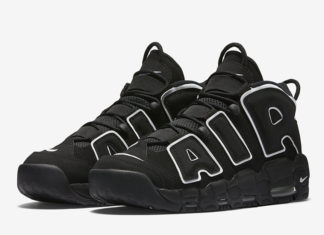 Nike Air More Uptempo OG Black White 2020 414962-002 Release Date Info