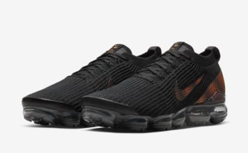 Nike Air VaporMax 3.0 Black Total Orange CU1926-001 Release Date Info
