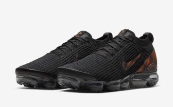 Nike Air VaporMax 3.0 Black Total Orange CU1926-001 Release Date Info