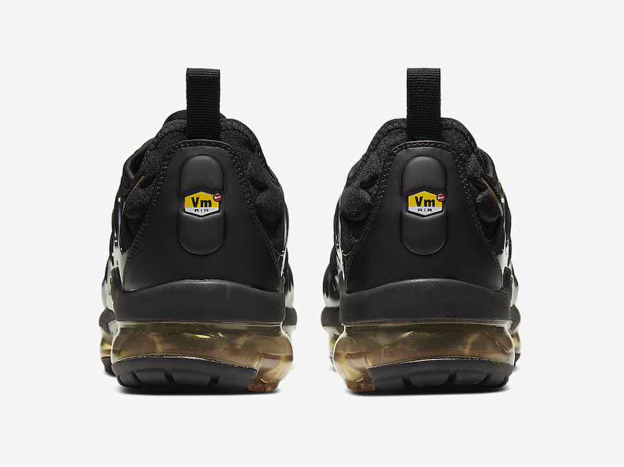 Nike Air VaporMax Plus Black Gold CW7299-001 Release Date Info