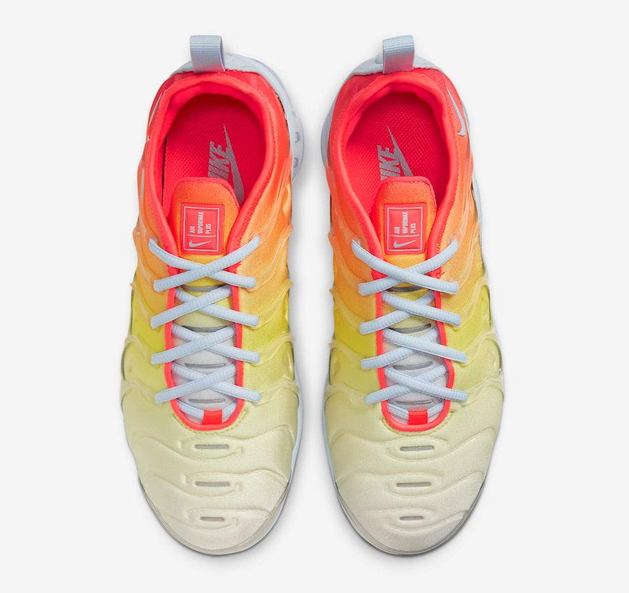 Nike Air VaporMax Plus Sunrise CW5593-400 Release Date Info