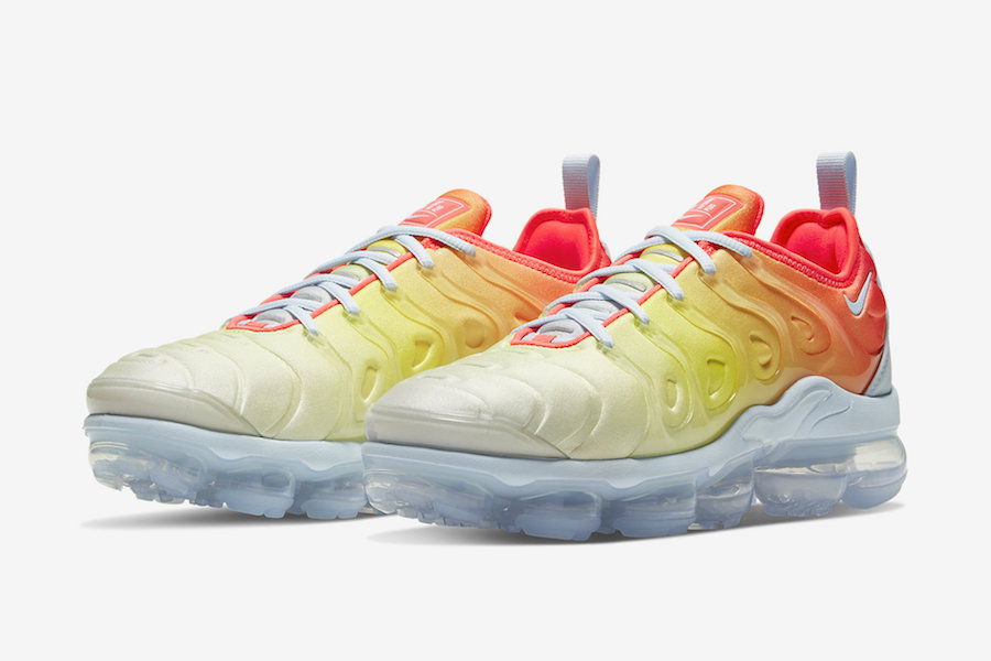 Nike Air VaporMax Plus Sunrise CW5593-400 Release Date Info | SneakerFiles
