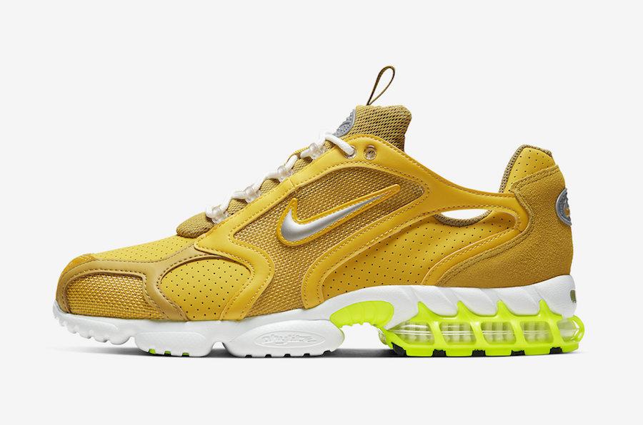 Nike Air Zoom Spiridon Caged Saffron Quartz CW5376-300 Release Date Info