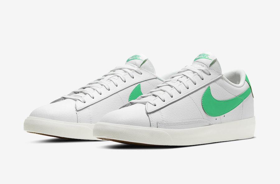 Nike Blazer Low 'Green Spark' Releasing Soon