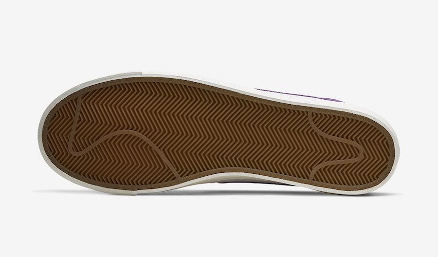 Nike Blazer Low Voltage Purple CI6377-103 Release Date Info