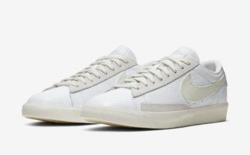Nike Blazer Low White Sail Platinum Tint CW7585-100 Release Date Info