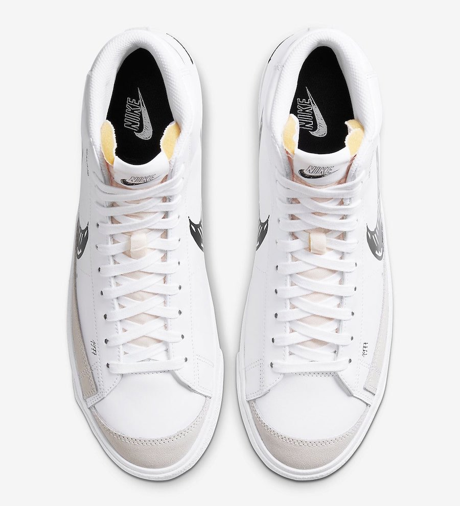 Nike Blazer Mid 77 Sketch CW7580-100 CW7580-101 Release Date ...