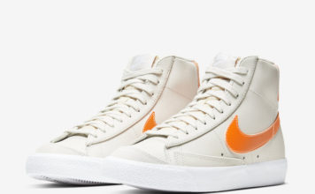 Nike Blazer Mid 77 Vintage Light Bone Total Orange CZ0461-001 Release Date Info