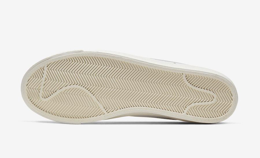 Nike Blazer Mid 77 Vintage White Platinum Tint CW7583-100 Release Date Info