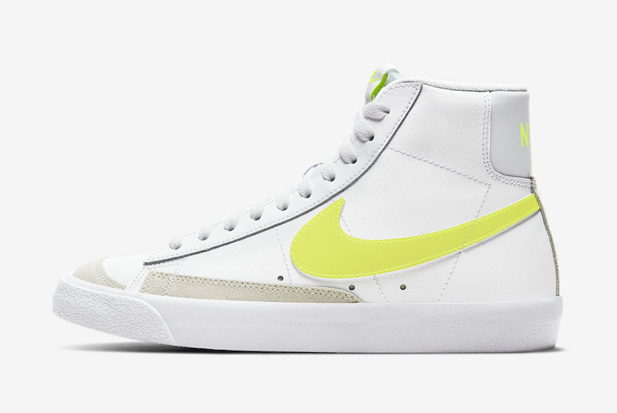 Nike Blazer Mid Lemon Venom CZ0362-100 Release Date Info