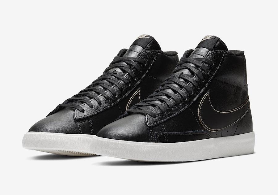 Nike Blazer Mid Patina Black CU6679-001 Release Date Info