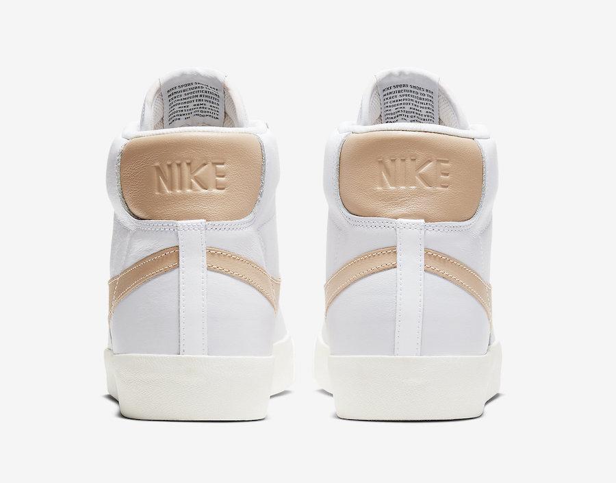 Nike Blazer Mid Patina White CU6679-001 Release Date Info