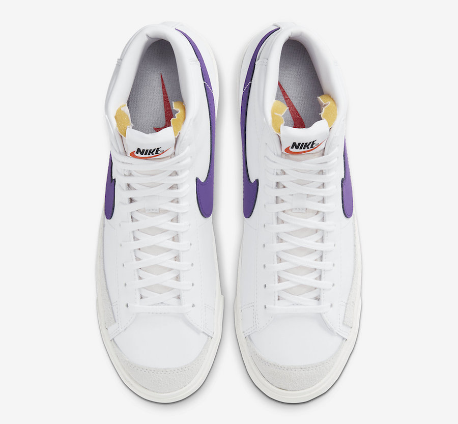 Nike Blazer Mid Voltage Purple BQ6806-105 Release Date Info