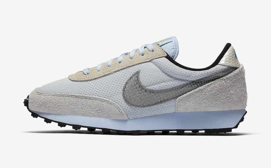 Nike Daybreak Pure Platinum Hydrogen Blue CV3029-001 Release Date Info
