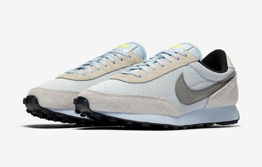 Nike Daybreak Pure Platinum Hydrogen Blue CV3029-001 Release Date Info | SneakerFiles