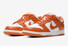 Nike Dunk Low Syracuse Orange White CU1726-101 Release