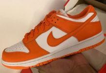 Nike Dunk Low Syracuse Orange White Release Date Info