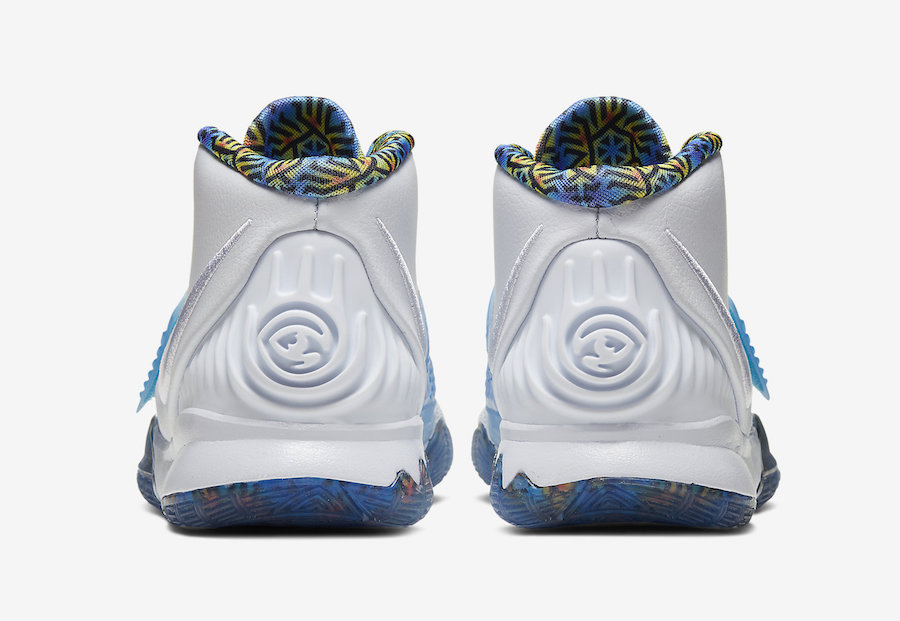 Nike Kyrie 6 White Sapphire Laser Crimson BQ5599-146 Release Date Info