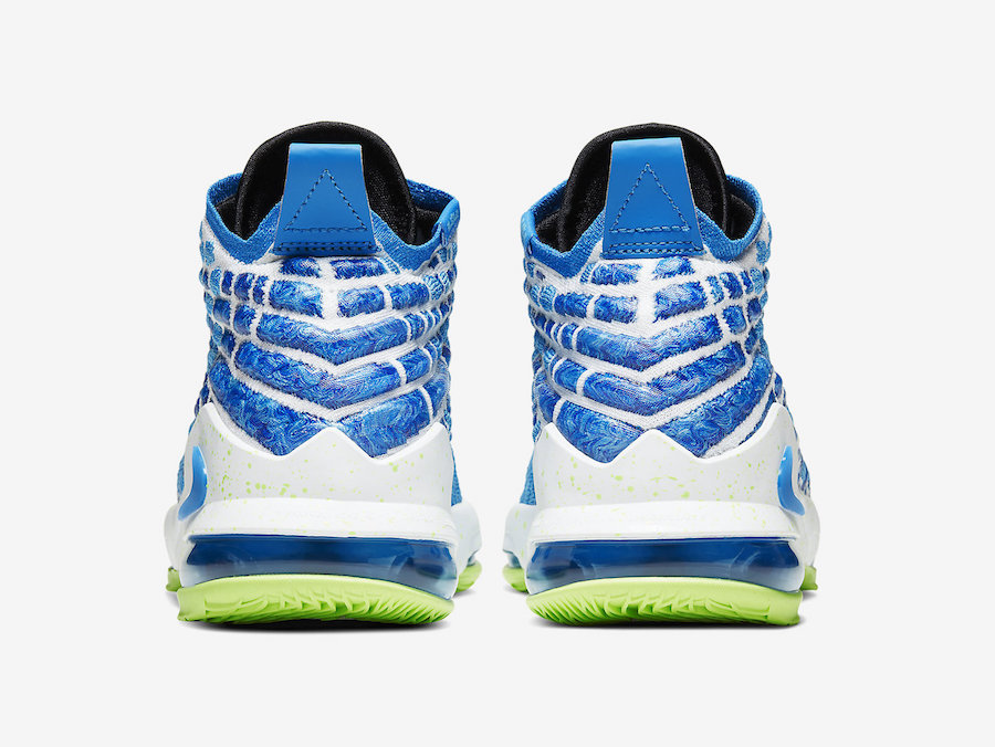 Nike LeBron 17 GS Photo Blue BQ5594-434 Release Date Info