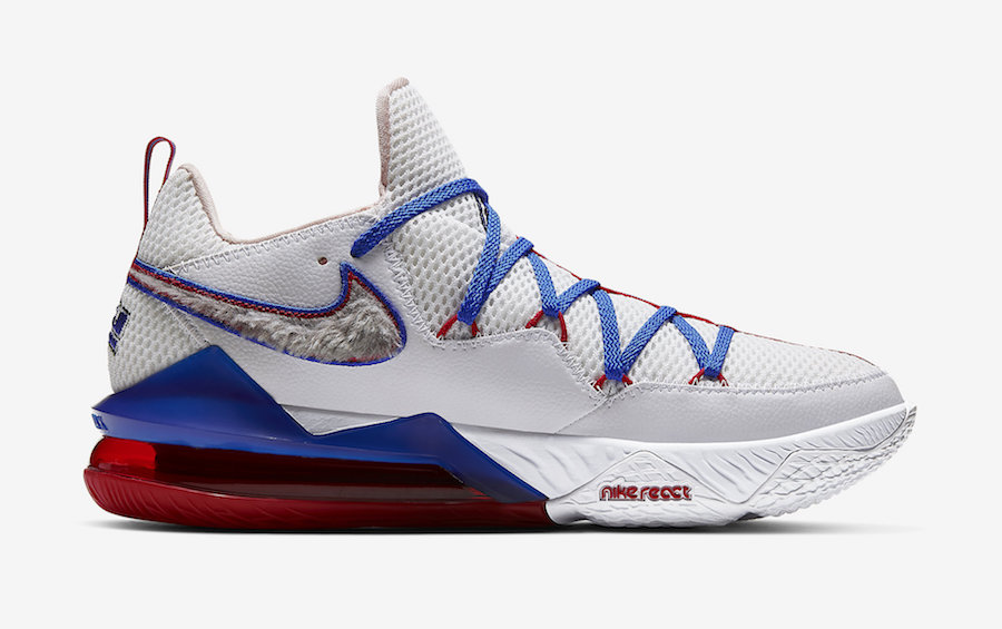 Nike LeBron 17 Low Tune Squad CD5007-100 Release Info