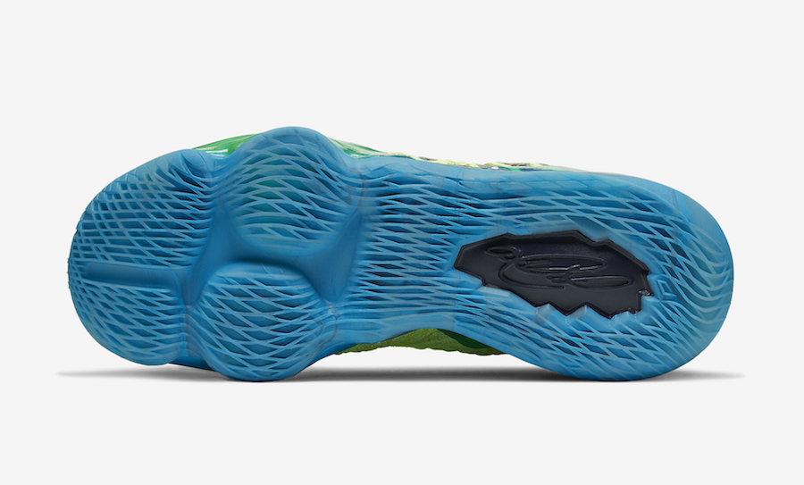 Nike LeBron 17 Mr. Swackhammer CV8075-300 Release Date Info