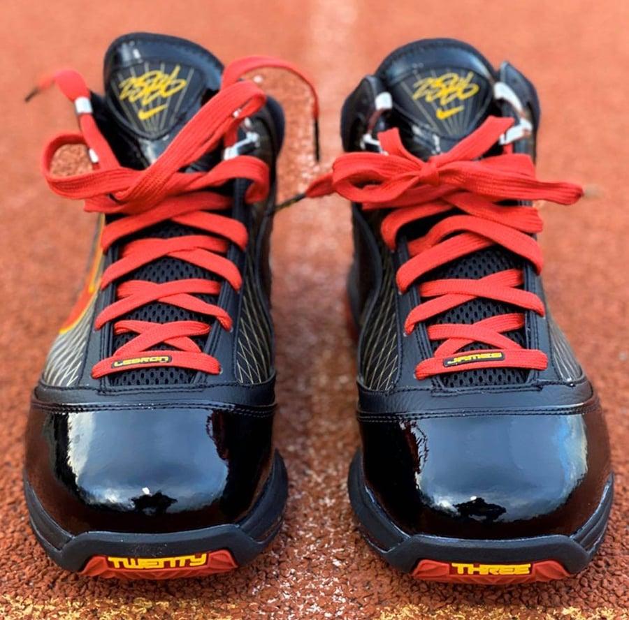 Nike LeBron 7 Fairfax 2020 CU5646-001 Release Date