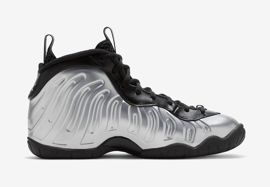 Nike Little Posite One Chrome CN5268-001 Release Date Info