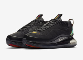 Nike MX 720-818 Black Magma Orange CV1646-001 Release Date Info