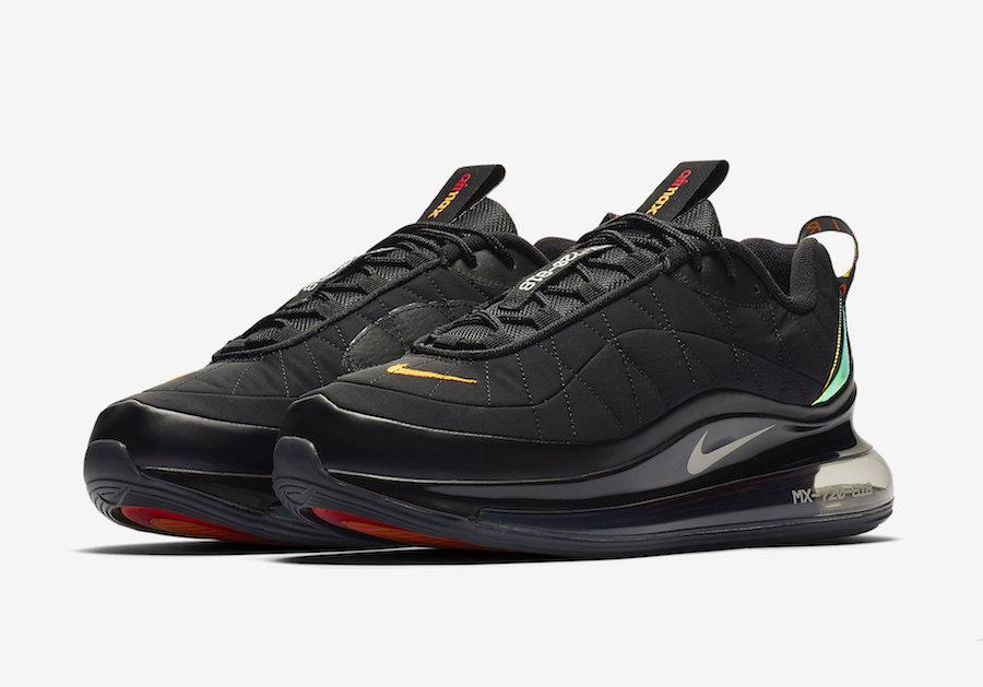 Nike MX 720-818 Launching in 'Black Magma'