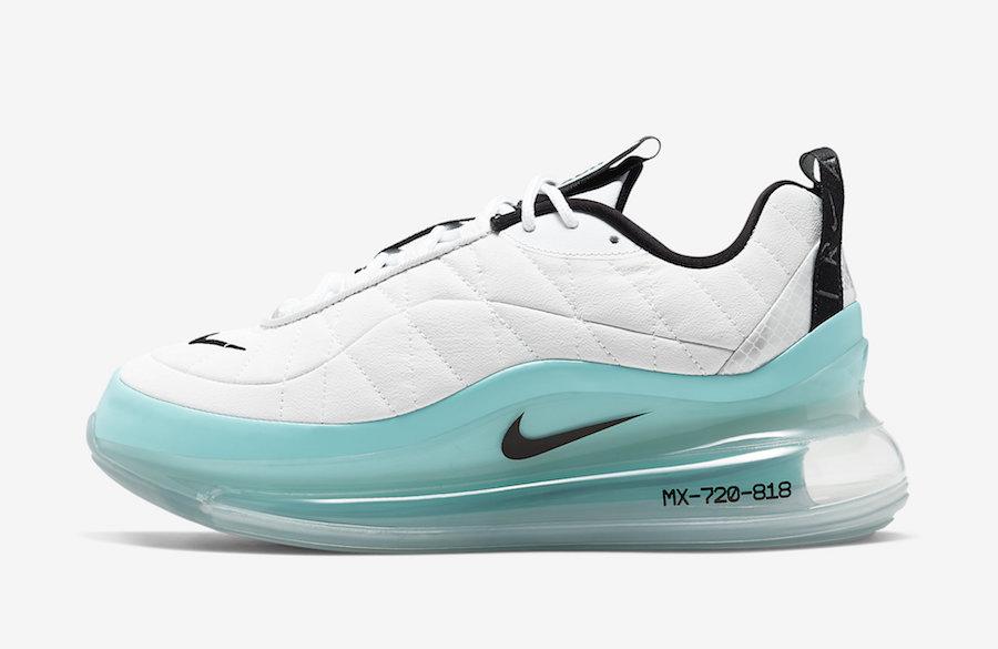 Nike MX 720-818 White Aqua CK2607-001 Release Date Info
