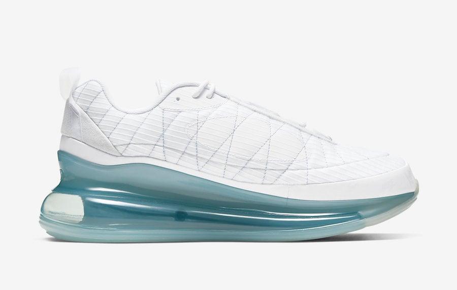 Nike MX 720 818 White Silver CT1266-100 Release Date Info